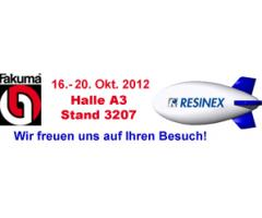 RESINEX Germany will be present on the next Fakuma 2012